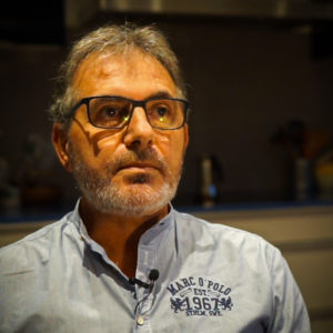 Valerio Maj voulait devenir prêtre. Il a été abusé par Don M., il y a bientôt 50 ans.