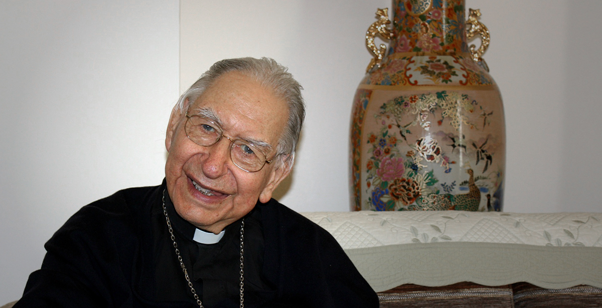 Le cardinal Georges Cottier (Photo: Bernard Bovigny)