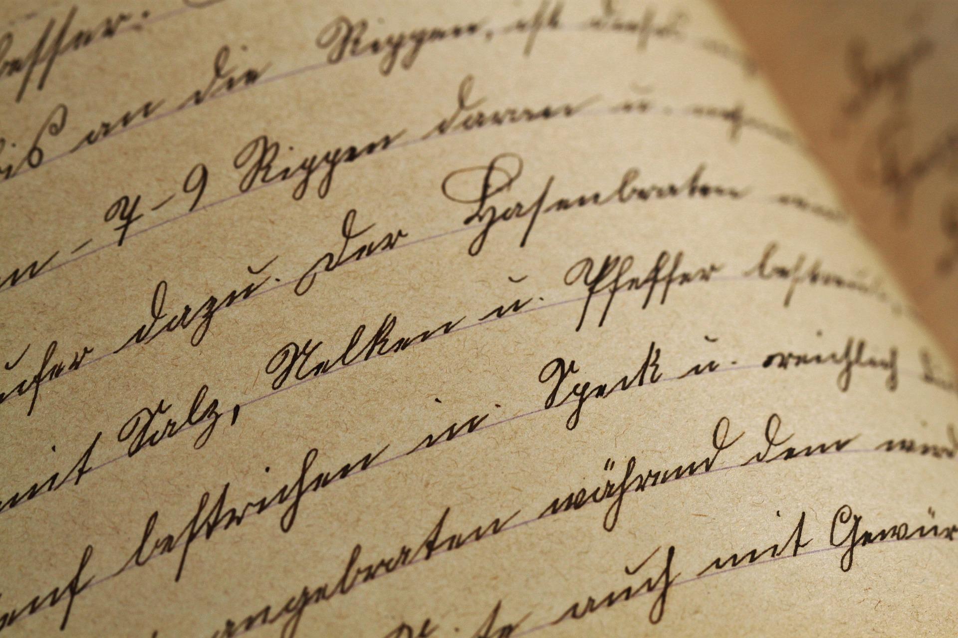 Schrift antik | pixabay.com CC0